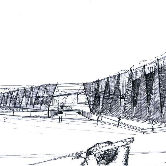 ANSKA_schiphol_museum_sketch